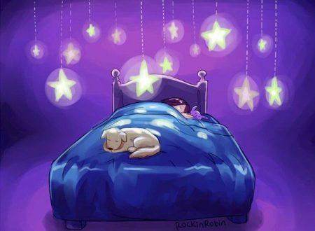 Buonanotte a chi aspetta un abbraccio di vero affetto…
