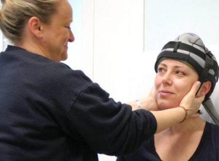 Chemioterapia: arriva in Italia la cuffia contro la caduta di capelli…
